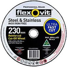 "9"" x 1.8mm / 2mm cutting discs"