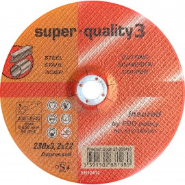 "9"" x 3mm / 3.2mm cutting disc"
