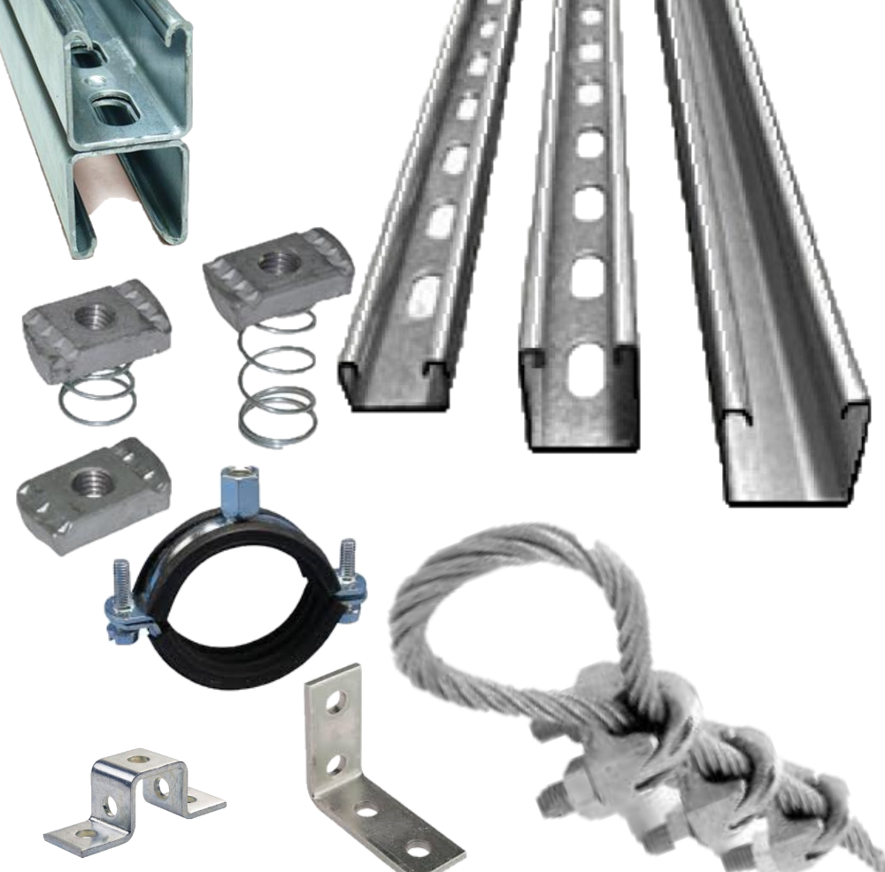 Mechanical and electrical supports