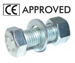 CE certified assembled sets nuts and washers