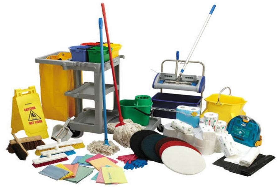 Miscellaneous janitorial supplies