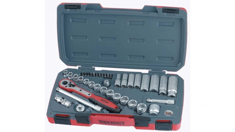 Teng Tools 39 Piece 3/8 Inch Drive Socket Set