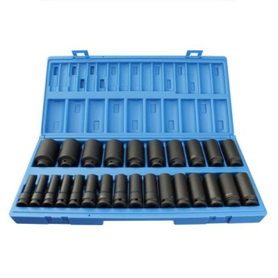 1/2'' Drive 26 Pce Long Reach Impact Set