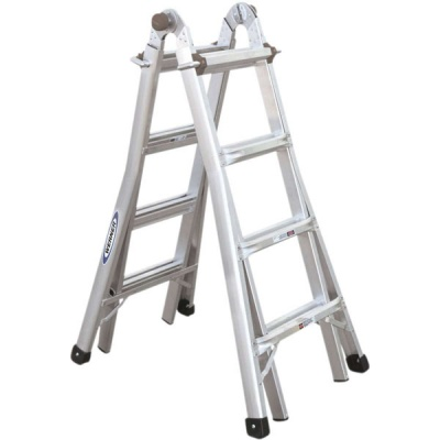 WERNER TELESCOPIC COMBINATION LADDER 4X4 Rung