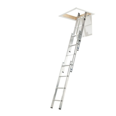 WERNER LOFT LADDER 3 SECTION ALUMINIUM