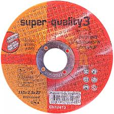 4 1/2'' x 1mm stainless steel cutting disc