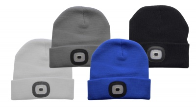 Tala Beanie Hat with LED Light