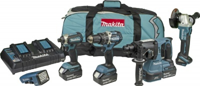 Makita DLX5042PT 18V LXT Brushless 5pc KIT