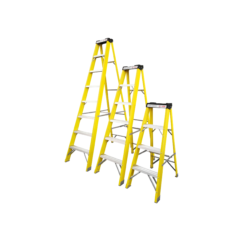 Power 4  Thread Fibreglass Ladder EN131 Professional