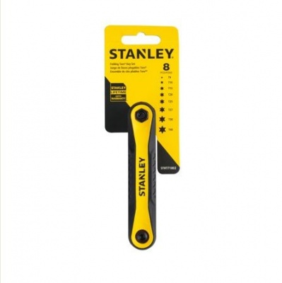 STANLEY 8p TORX FOLDING KEY SET