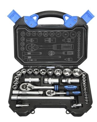 Tala 32pce 1/2in and 1/4in Drive Socket Set