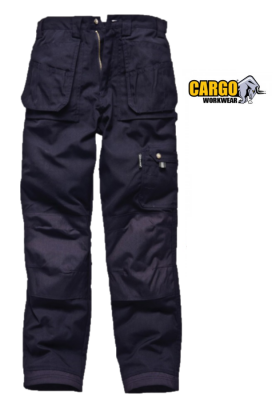Cargo storm work trouser with detachable zip pockets