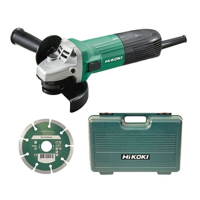4 1/2'' hitachi Koki angle grinder g12 stx and charger