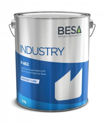Besa Quick Drying Primer Grey 6kg Tin ( 5 Litre Equivilent)