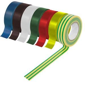 Insulating tape available in different colours
