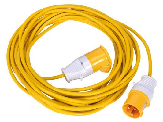 Extension lead  110 volt 14 meters loose 2.5 sq 32 Amp
