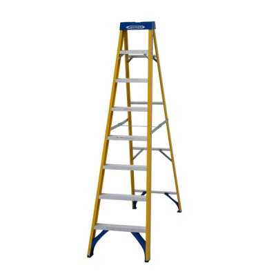 WERNER FIBREGLASS STEPLADDER 8 Thread