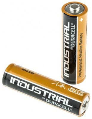 AA size Duracell Industrial batteries pack of 4