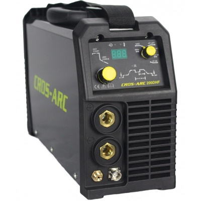 Cros-arc 200 amp DC high frequency (hf) dual Tig welding machine complete with torch