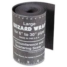 Flange wizard pipe wrap 6'' - 30''