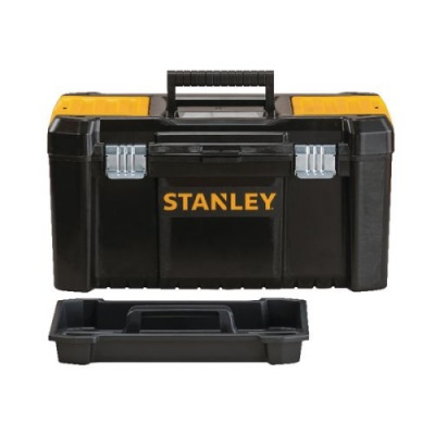 Stanley 19 Inch Toolbox Black and Yellow