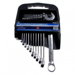 11 Piece Blue spot spanner set