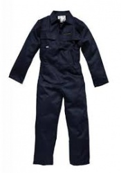 Navy boiler suits poly/cotton