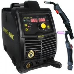 Cros Arc 201 Multi Function 200A Welder With Mig & Tig Parker Duragrip™ Torches